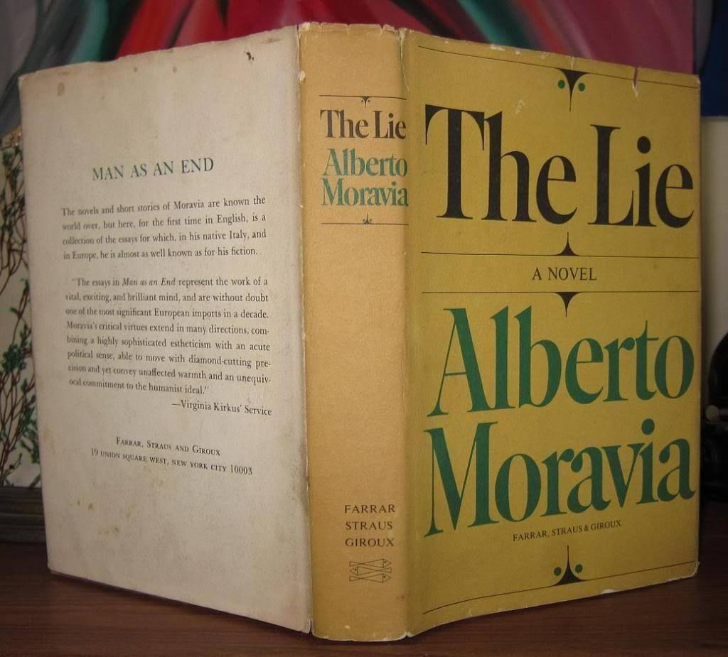 the lie by moravia